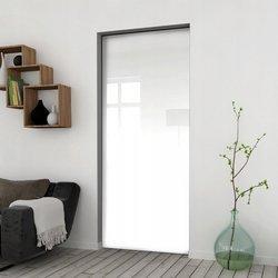 Drzwi Przesuwne 65 Płyta Białe Kaseta