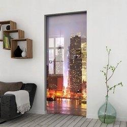 Drzwi Szklane Przesuwne 65 GR-H011 KASETA