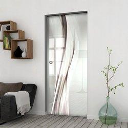Drzwi Szklane Przesuwne 65 GR-H018 KASETA