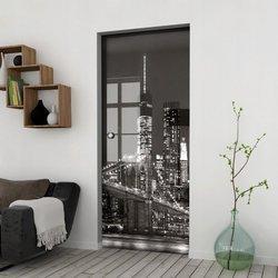 Drzwi Szklane Przesuwne 65 GR-H03 KASETA