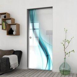 Drzwi Szklane Przesuwne 65 GR-H30 KASETA