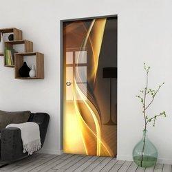 Drzwi Szklane Przesuwne 85 GR-H029 KASETA