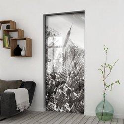 Drzwi Szklane Przesuwne 85 GR-H06 KASETA