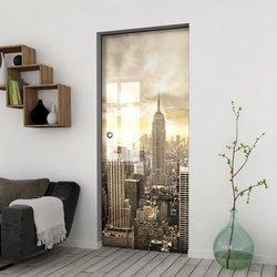 Drzwi Szklane Przesuwne 85 GR-H09 KASETA