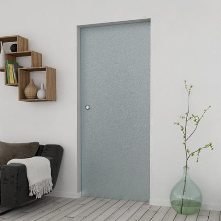 Drzwi Szklane Przesuwne 1050X2095 8MM ESG MILENIUM + KASETA