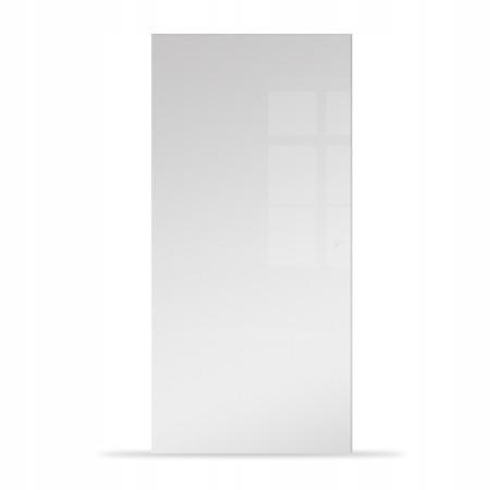 Drzwi Szklane Przesuwne 95 Płyta Białe KASETA